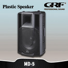 "GRFActive Pro Audio Professional Plastic 15"" Speaker with XLR, USB & SD Card"