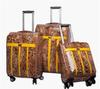 Aluminum Frame Soft Suitcase 100% PU Trolley Case