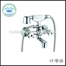european Hungary two button bath shower faucet bathroom shower faucet with handle shower