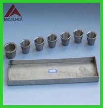Best Selling 99.95% pure molybdenum boat evaporation price