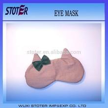 Cat Lovers Sleep Eye Mask dark bow cute gift