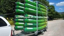 Professional kayak manufacturer 2+1 seat plastic kayak roto mold for sale (Balawika)