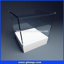 Elegant custom make clear acrylic watch box gift box display box
