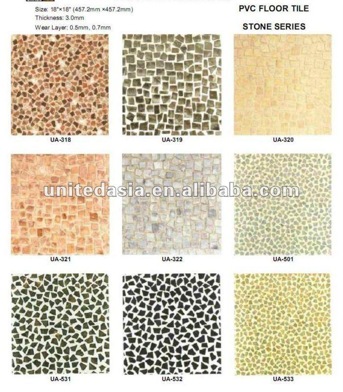 Azulejos Para Baños Antideslizantes:Antideslizante piso de vinil para baño-Piso de plástico