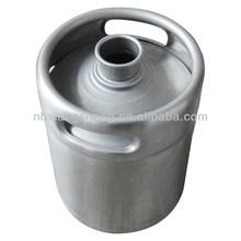 2L stainless steel beer kegs , kegs for beer , metal beer kegs