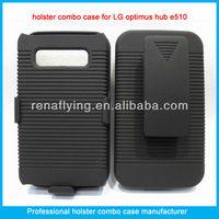 For LG optimus hub e510 hard cover case