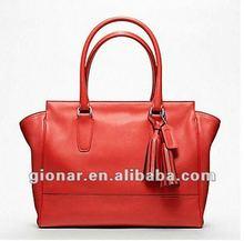 2013 new reason fair lady spanish leather handbag