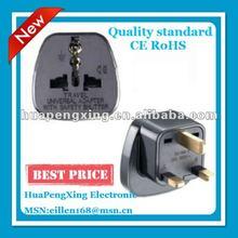 UK 13A Plug Socket/Plug Adapter/3 Pin Travel Adapter Plug