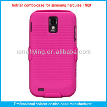 For samsung galaxy s2 t989 phone cases with belt clip