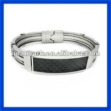 2014 Stainless Steel Bracelet Rubber TPSB163