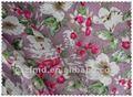 الصين استيراد نسيج الكتان المطبوع مع زهرة