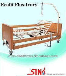Five-function motorized home care nursing bed