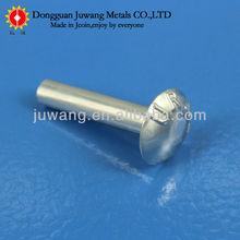 round head long aluminium solid rivet