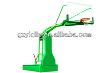 Manual hydraulic basketball stand removable portable basketball stands