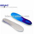 la plantilla para el zapato de deporte de absorción de choque plantillas de gel