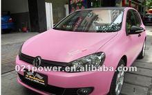 High quality matt pink color change film for auto wrap decoration&matt pink color change film