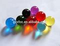 Esfera de pmma, bola plixiglass, claro color de bola de acrílico