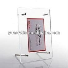 2012 China fashion rectangle acrylic photo frame from shenzhen Yidong
