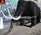 Simulation for Amusement park equipment-Prehistoric mammoth