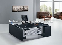 South America classic melamine executive office desk/L-shade computer desk