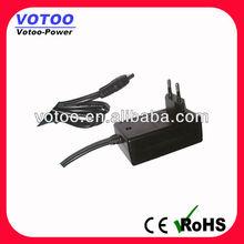 EU US UK AU Korea plug in 9v 12v 24v ac dc adapter power supply