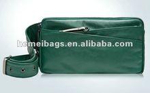 3-way Genuine Leather Simple Shoulder bag backpack Waist bag for men