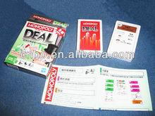 Custom DEAL Monopoly card game