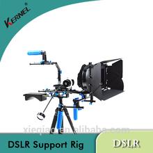 Kernel complete DSLR rig support Matte Box/Follow Focus/Handle Shoulder Pad Rig DSLR rod Support System