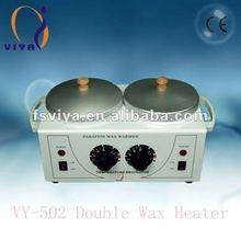 Vy-502 depiladora calentador de cera, caliente cera más caliente, cera doble olla más caliente