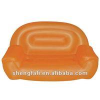 Pvc air sofa / inflatable living chairs /durable inflatable sofa