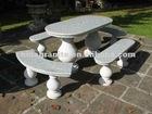 garden granite bench