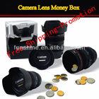 Creative design Camera Lens Money box Money case