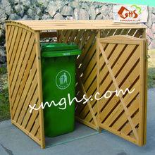 Wood Frame Garbage Box