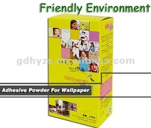 friendly environment adhesive powder for wallpaper