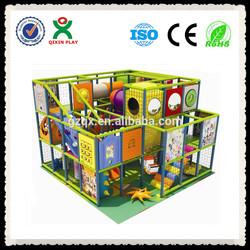 Fantastic indoor playground/kid indoor playground/kids naughty castle QX-B2701