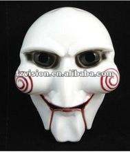Halloween Old Man Mask, Plastic Saw Mask