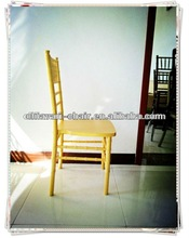 Bright color chair Gold Color chateau chair colored plastic chairs