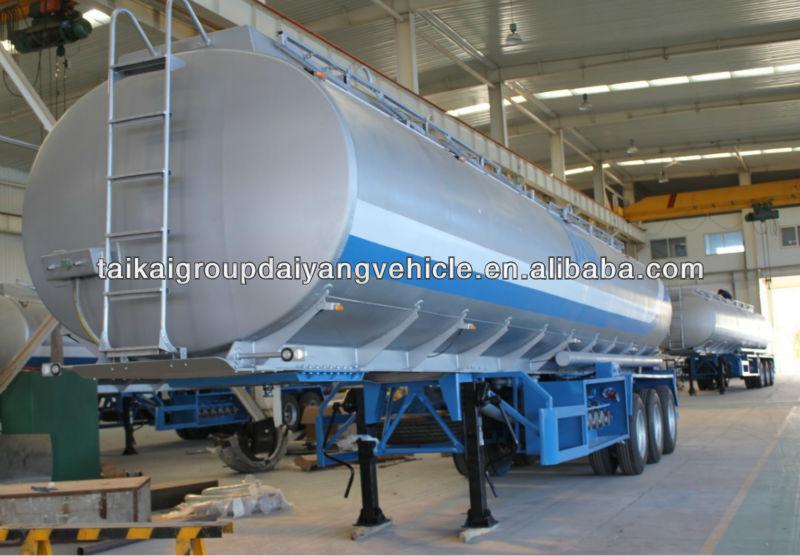 45000 Liters Tanker Semi Trailer