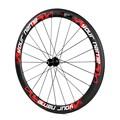 hot vente pneu 2014 yishunbike 50mm toray t700 full carbone vélo de route roue moyeux en alliage léger