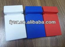 Fashion silicone cigarette pack cover silica gel cigarette case