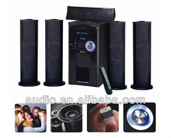5.1 active subwoofer with USB SD FM Remote Karaoke and VFD Display
