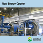 10T Waste tire to oil pyrolysis plant with ISO AND CE