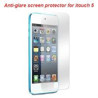 Matte anti-glare screen protector guard film cover for ipod touch 5 5th 5G KPT047