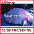 Melhor qualidade barraca inflável do evento, barraca da abóbada inflável, branco inflável barraca da abóbada