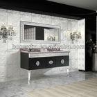 Luxury double sink foshan bathroom vanity