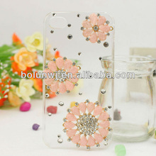 Sunflowers Rhinestone Bling Cell Phone Case Cover zd1521