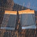pequeñas de plástico transparente de plástico bolsas de celofán de cabecera bolsa de regalo