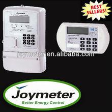 JOY312 Split three Phase Prepaid/prepay Modbus Energy/electric Meter