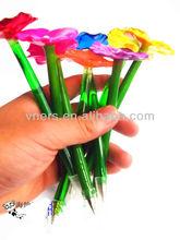 Novelty Vivid Colorful Flower Ball pen