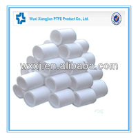 Low Extractable Recycled Ptfe Teflon Tube Customized Specifications Chemically Resistant
